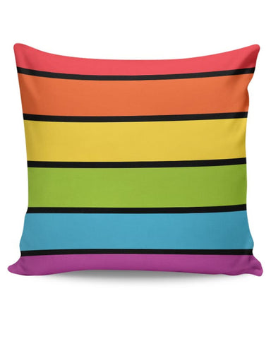 Rainbow Cushion Cover Online India