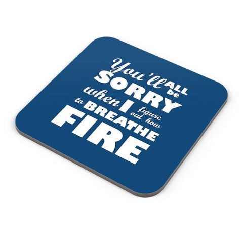 I Breathe Fire Coaster Online India