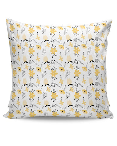 Elegant Flower Pattern Cushion Cover Online India