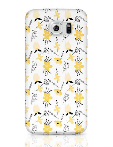 Elegant Flower Pattern Samsung Galaxy S6 Covers Cases Online India