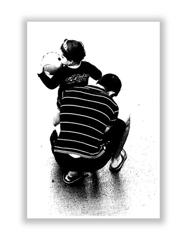 Buy Posters Online | Father and Child Poster | PosterGuy.in
