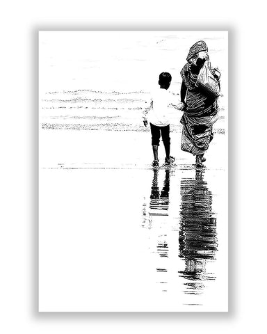 Buy Posters Online | Mother and Son Poster | PosterGuy.in