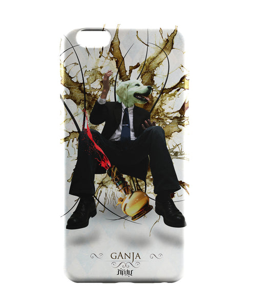 iPhone 6 Case & iPhone 6S Case | Dog's Face on Man's Body Ganja Design iPhone 6 | iPhone 6S Case Online India | PosterGuy