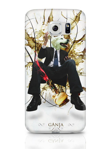 Samsung Galaxy S6 Covers & Cases | Dog'S Face On Man'S Body Ganja Design Samsung Galaxy S6 Covers & Cases Online India