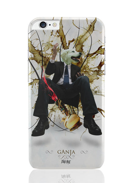 iPhone 6 Plus / 6S Plus Covers & Cases | Dog'S Face On Man'S Body Ganja Design iPhone 6 Plus / 6S Plus Covers and Cases Online India