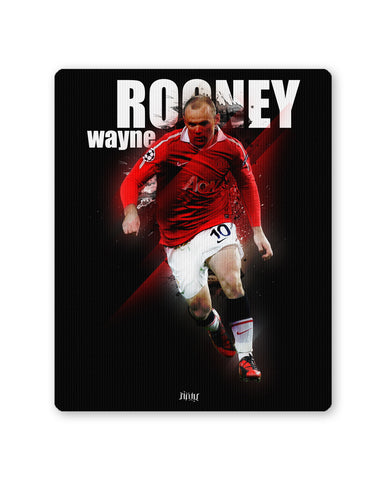 Mouse Pads | Wayne Rooney Football Fan Art Mouse Pad Online India | PosterGuy.in