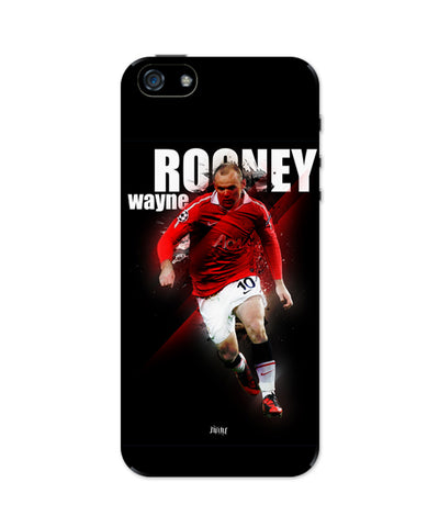 Wayne Rooney Football Fan Art iPhone 5 / 5S Case
