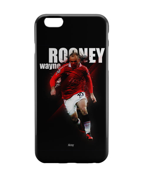 iPhone 6 Case & iPhone 6S Case | Wayne Rooney Football Fan Art iPhone 6 | iPhone 6S Case Online India | PosterGuy