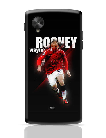 Google Nexus 5 Covers | Wayne Rooney Football Fan Art Google Nexus 5 Cover Online India