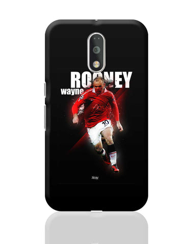 Wayne Rooney Football Fan Art Moto G4 Plus Online India
