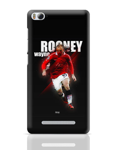 Xiaomi Mi 4i Covers | Wayne Rooney Football Fan Art Xiaomi Mi 4i Cover Online India