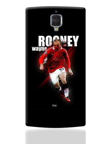 Wayne Rooney Football Fan Art OnePlus 3 Cover Online India