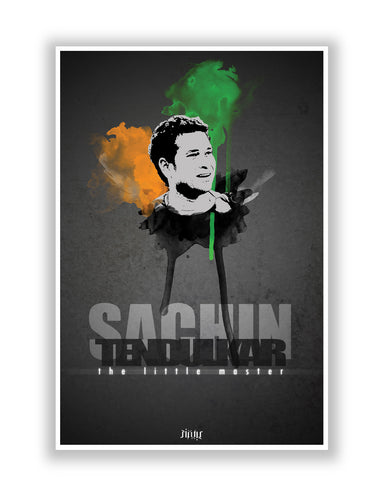 Buy Sports Posters Online | Sachin Tendulkar The Little Master  Poster | PosterGuy.in
