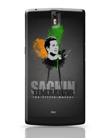 OnePlus One Covers | Sachin Tendulkar The Little Master OnePlus One Cover Online India