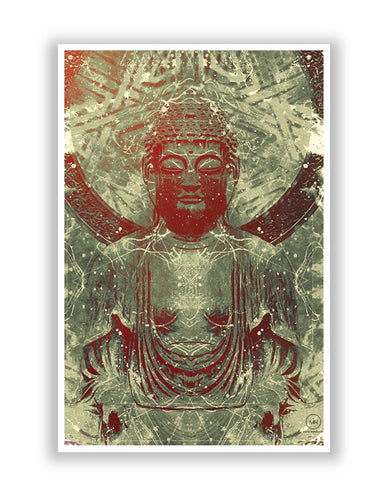Posters | Lord Buddha Peaceful Poster Online India