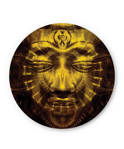 PosterGuy | Lord Buddha Warm Golden Fridge Magnet 1483084519 Online India