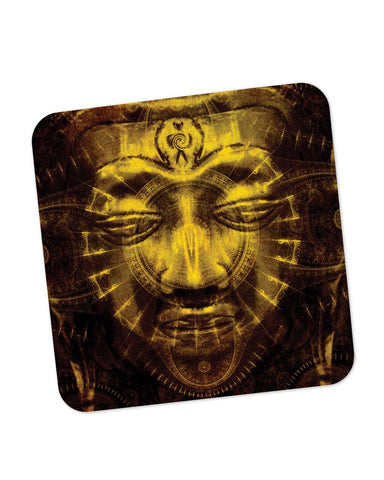 Coasters | Lord Buddha Warm Golden Coaster 1483084529 Online India | PosterGuy.in