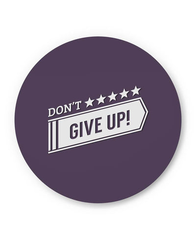 PosterGuy | Don't Give Up Typography Fridge Magnet 1483196019 Online India