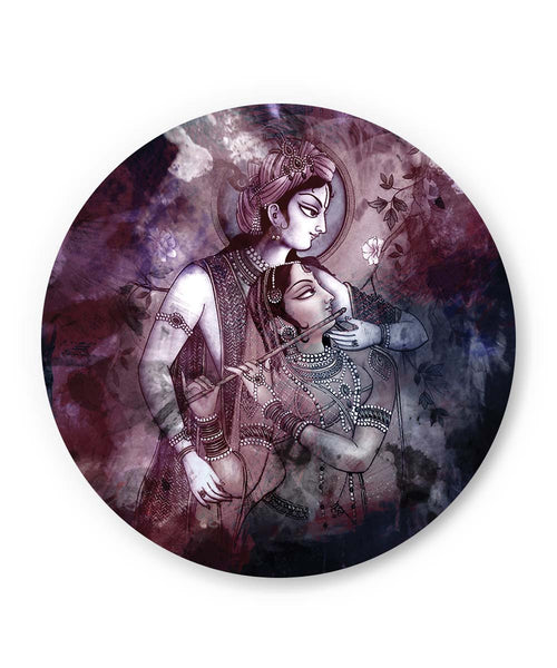 PosterGuy | Dreamscape Lord Krishna Radha Fridge Magnet 1483224519 Online India