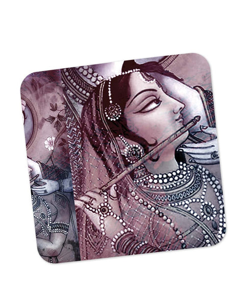 Coasters | Dreamscape Lord Krishna Radha Coaster 1483224529 Online India | PosterGuy.in