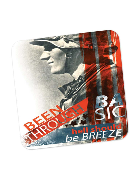 Coasters | Hell Should Be a Breeze | Armed Forces Coaster 1483256129 Online India | PosterGuy.in