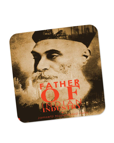 Coasters | Jamsetji Nusserwanji Tata Quote Coaster 1483316029 Online India | PosterGuy.in