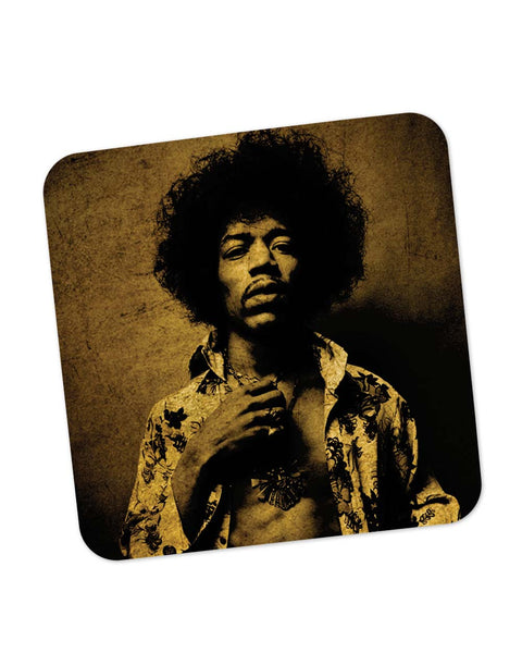 Coasters | Jimi Hendrix Vintage Hue Coaster 1483327329 Online India | PosterGuy.in