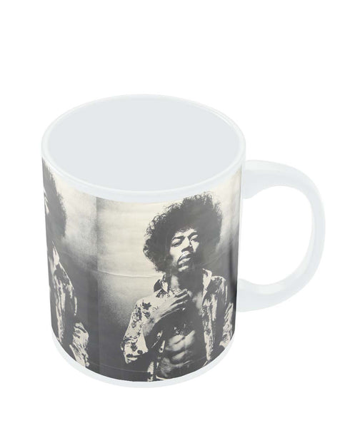 Mugs | Jimi Hendrix Black and White Mug Online India