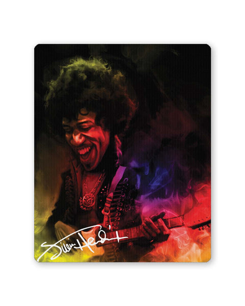 PosterGuy | Jimi Hendrix Quirky Abstract Painting Mouse Pad 1483347316 Online India