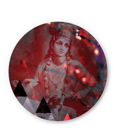 PosterGuy | Lord Krishna Reprise Fridge Magnet 1483365119 Online India