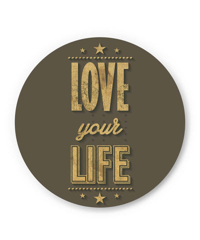 PosterGuy | Love Your Life Fridge Magnet 1483406019 Online India