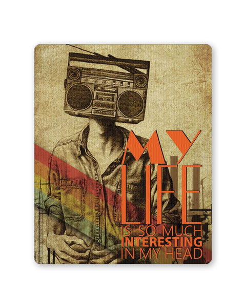 PosterGuy | Music In My Head Always Mouse Pad 1483427316 Online India