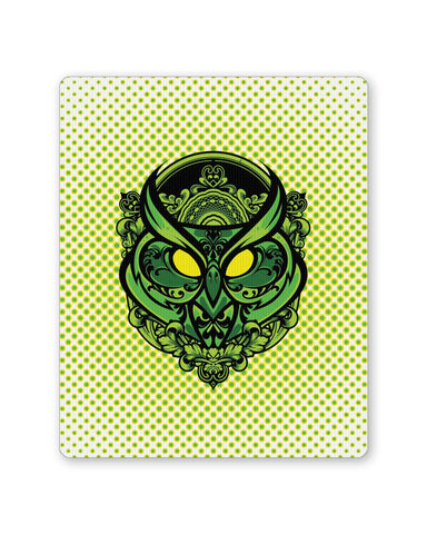 PosterGuy | Pop Art owl (Green) Mouse Pad 1483448316 Online India