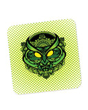 Coasters | Pop Art owl (Green) Coaster 1483448329 Online India | PosterGuy.in