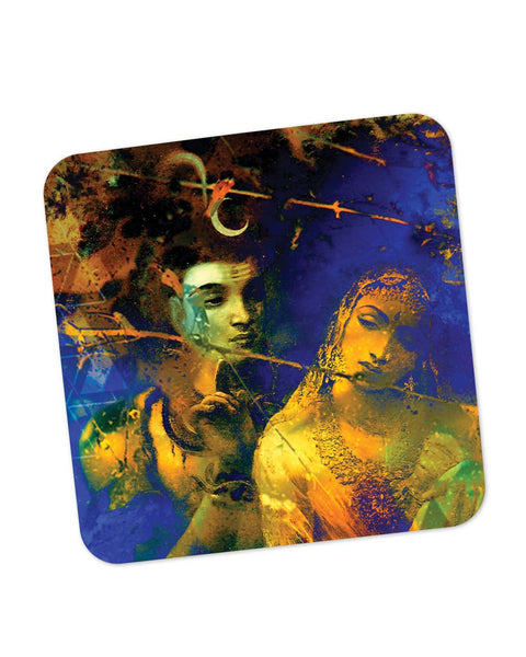 Coasters | Lord Shive The Auspicious One Coaster 1483515129 Online India | PosterGuy.in