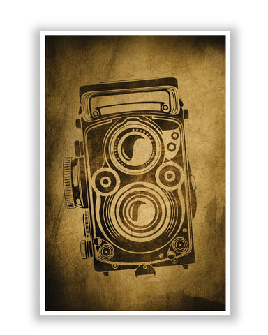 Posters | Shoot Me Pop Art Camera Grunge Poster Online India