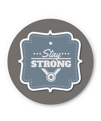 PosterGuy | Stay Strong Typography Fridge Magnet 1483576019 Online India