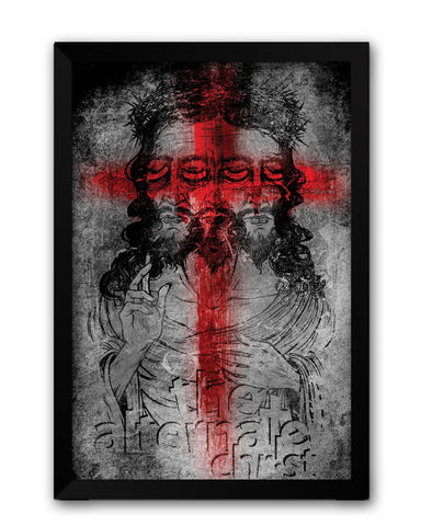 Framed Posters | The Alternate Jesus Christ Laminated Framed Poster Online India