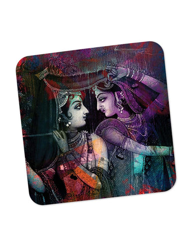 Coasters | The Divine Lord Krishna Coaster 1483635129 Online India | PosterGuy.in