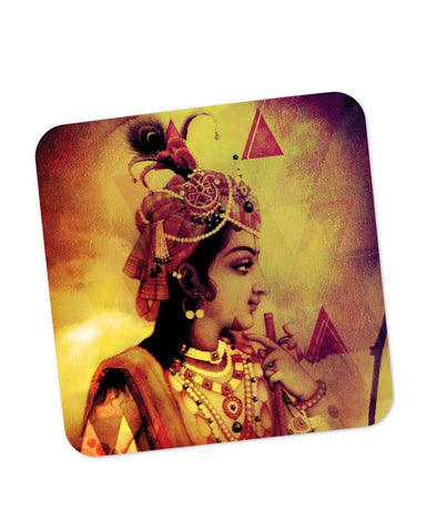 Coasters | The Infinity Lord Krishna Coaster 1483645129 Online India | PosterGuy.in