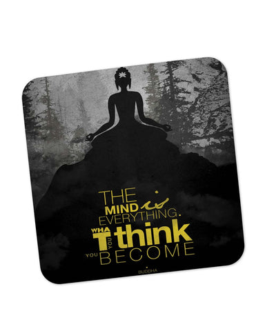 Coasters | The Mind is Everything Lord Buddha Quote Coaster 1483656029 Online India | PosterGuy.in