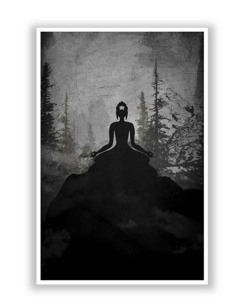 Posters | Lord Buddha Meditating Poster Online India
