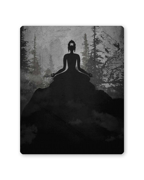 PosterGuy | Lord Buddha Meditating Mouse Pad 1483664516 Online India