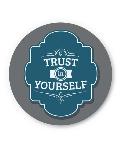 PosterGuy | Trust In yourself Motivational Quote Fridge Magnet 1483706019 Online India