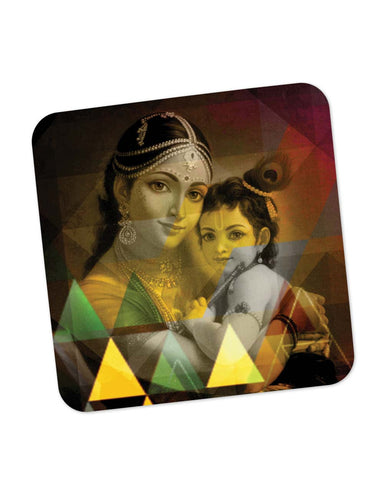 Coasters | Yasodha And Krishna Coaster 1483785129 Online India | PosterGuy.in