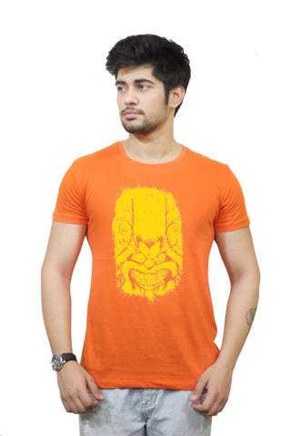 Buy Funny T-Shirts Online India | Angry Feline Yellow T-Shirt Funky, Cool, T-Shirts | PosterGuy.in