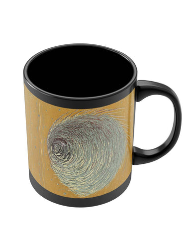 Mugs | Illusions of Mind | Art Painting Black Coffee Mug Online India