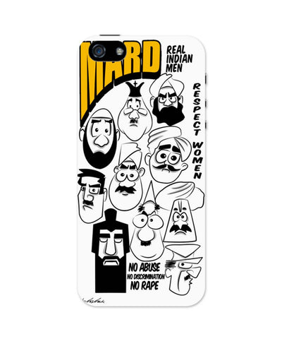 iPhone 5 / 5S Cases| Mard | Real Indian Men Respect Women iPhone 5 / 5S Case 1503018317 Online India