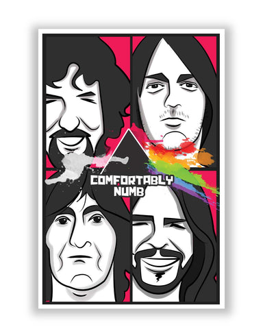 Posters | Comfortably Numb | Pink Floyd Poster Online India