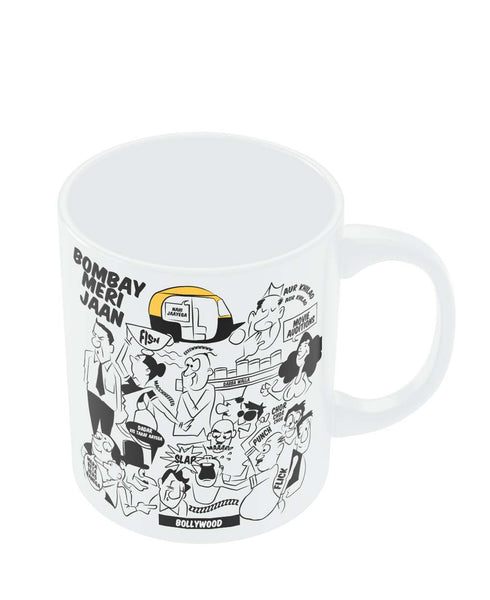 Mugs | Bombay Meri Jaan Comic Art Mug Online India